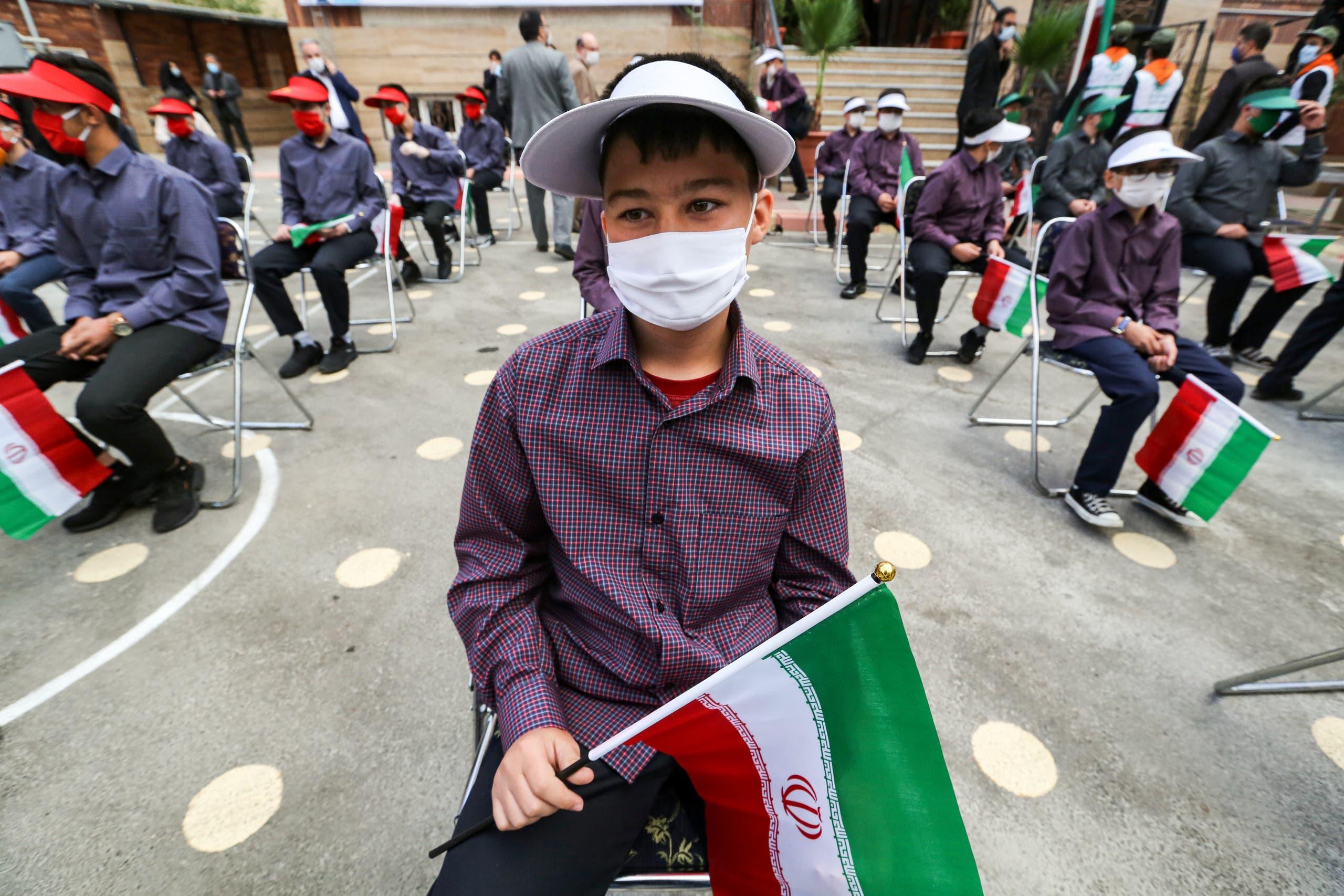 طلاب في إيران (أرشيفية- فرانس برس)