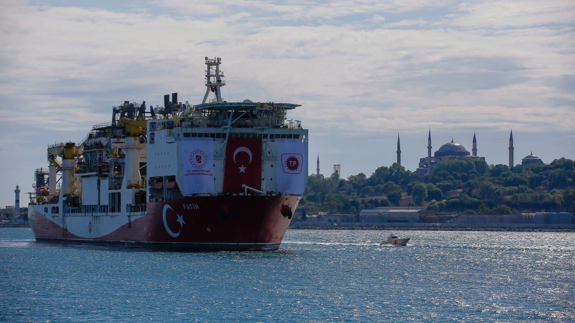 سفينة تركيو شرق المتوسط (أسوشييتد برس)