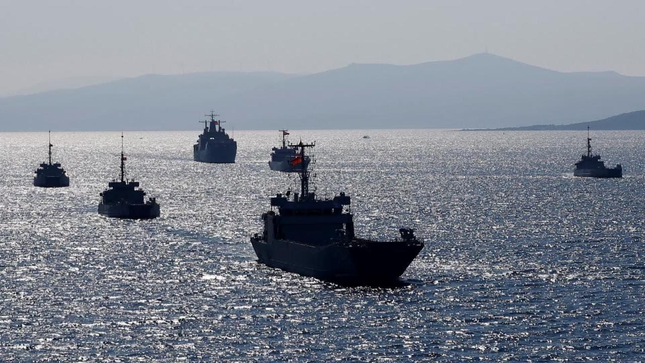 مناورات تركية شرق المتوسط