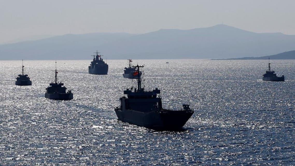 مناورات تركية تزيد التوتر في شرق المتوسط