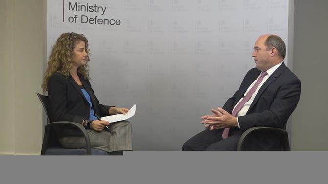 مقابلة خاصة | بن والاس - وزير الدفاع البريطاني