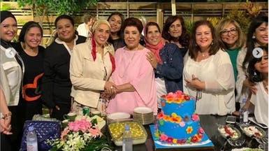شاهد.. احتفال الراحلة رجاء الجداوي بعيدها الأخير