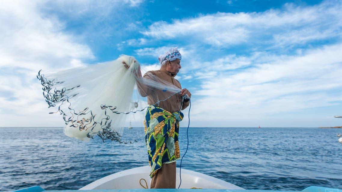 Saudi Aramco's fishermen initiative. (Supplied)