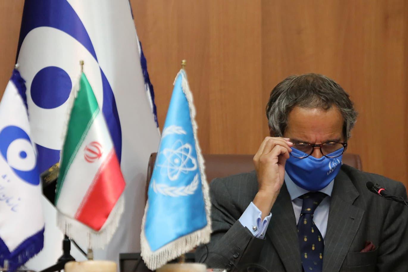 من زيارة مدير عام الوكالة الدولية للطاقة الذرية إلى إيران في أواخر أغسطس