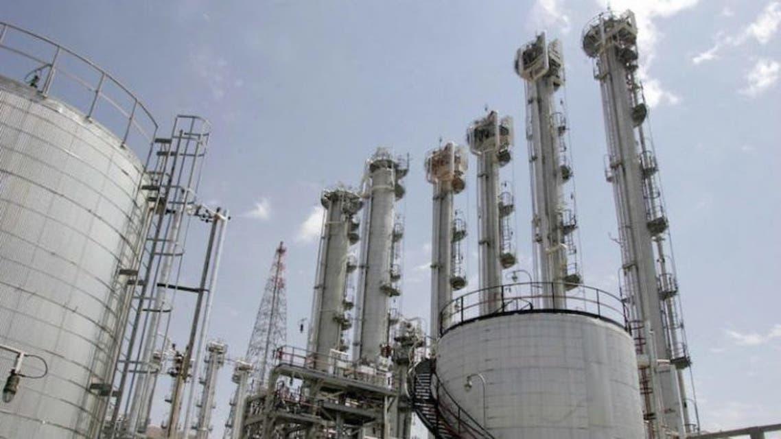 مفاعل آراك للمياه الثقيلة في إيران