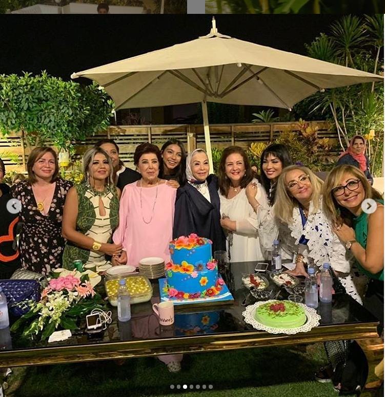 رجاء الجداوي تحتفل بعيدها الأخير