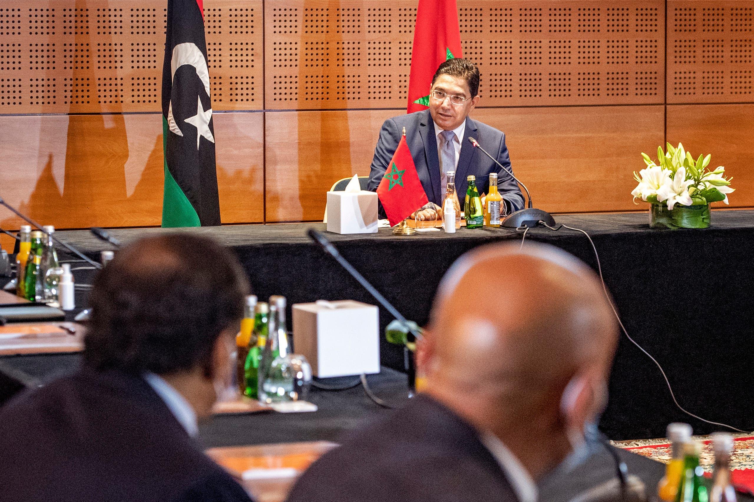 من الحوار الليبي الأخير في المغرب في سبتمبر الماضي
