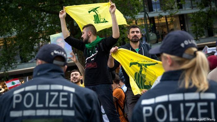 عناصر مؤيدة لحزب الله في ألمانيا