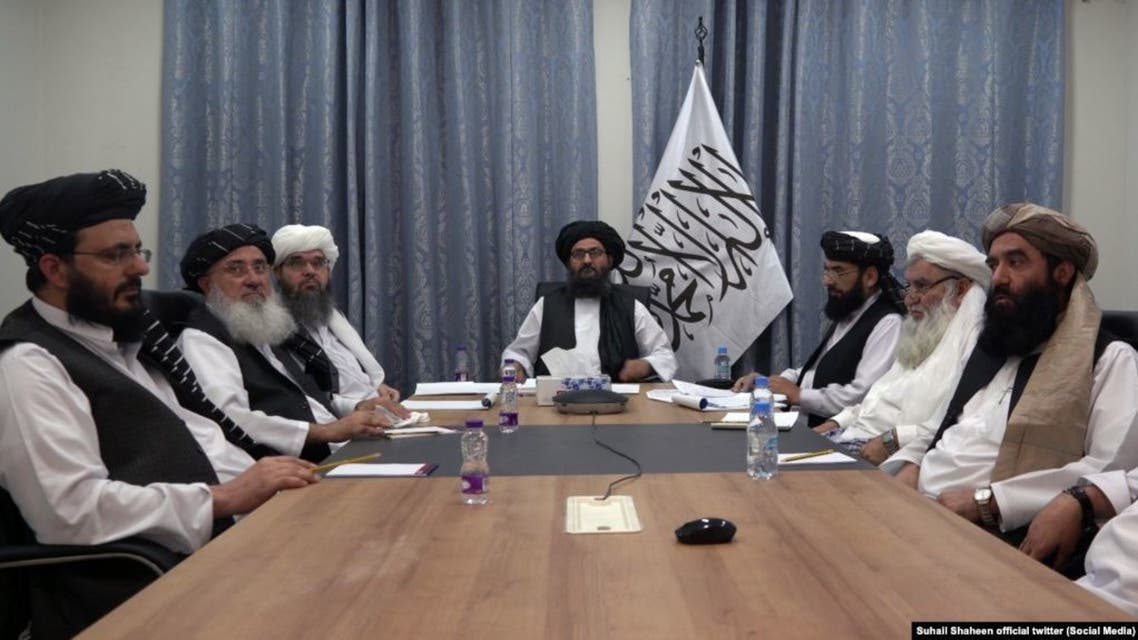 اولین نشست میان تیم مذاکرهکننده طالبان و اعضای دفتر آنها در قطر برگزار شد