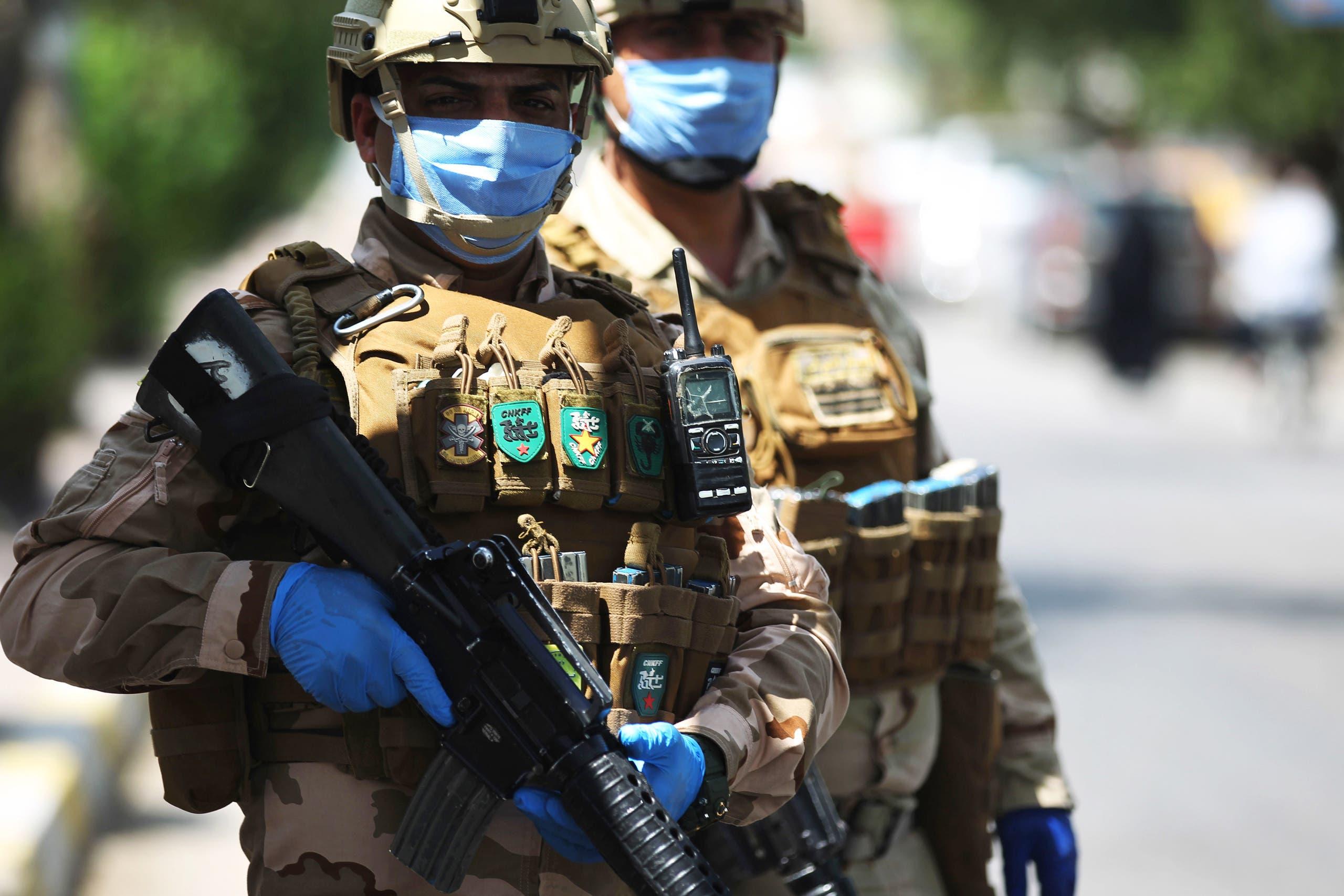 جنود عراقيون في بغداد (أرشيفية)