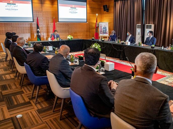 الوفدان الليبيان يوقعان على المسودة النهائية للاتفاق بالمغرب