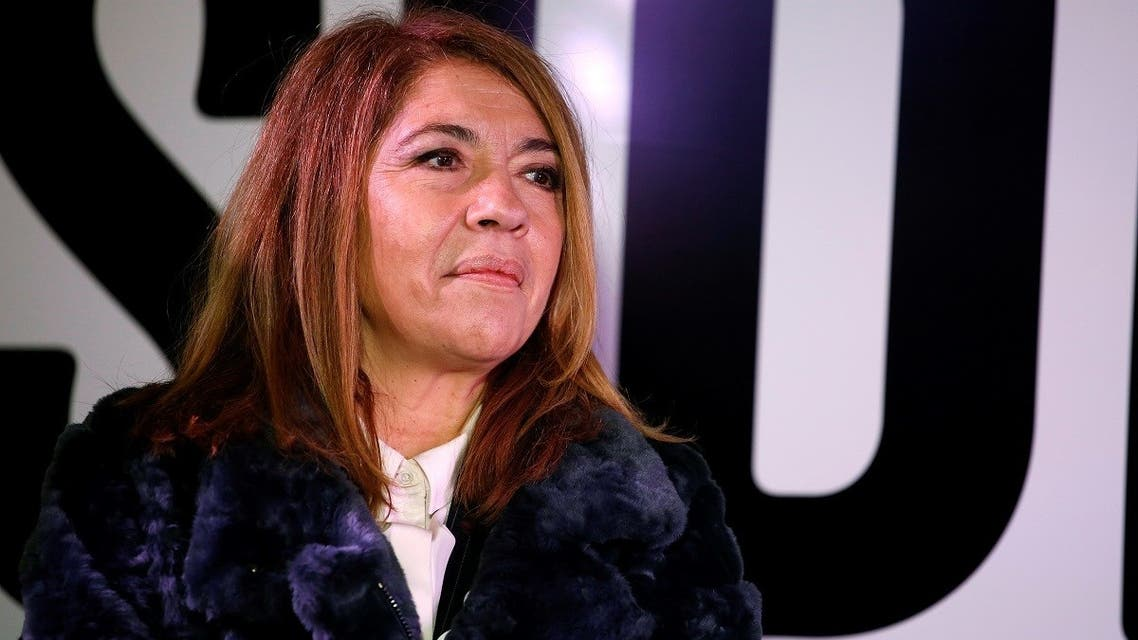 A file photo of French international broadcasting group France Media Monde Director Marie-Christine Saragosse in Paris, on March 5, 2017. (AFP)