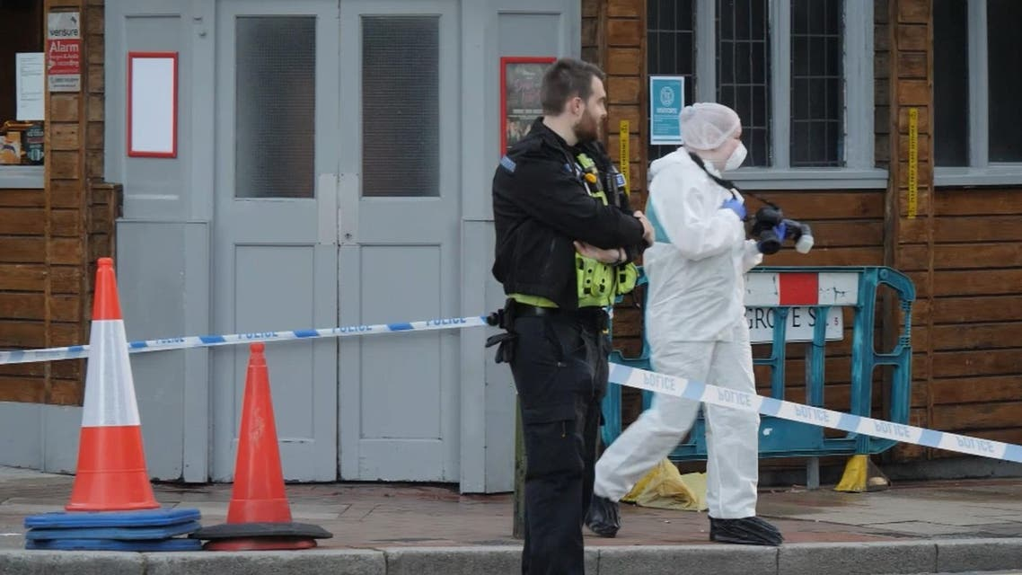 من موقع الحادث في مدينة برمنغهام