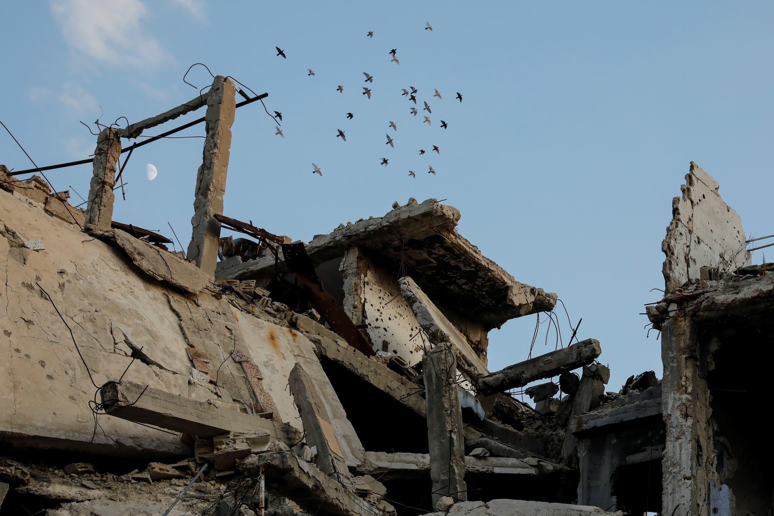 الدمار في حمص (أرشيفية)