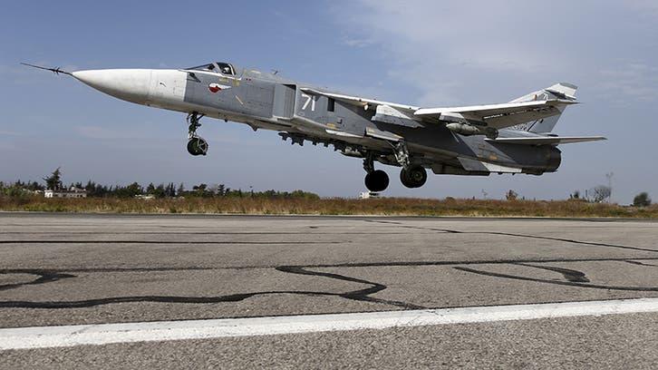 22 غارة روسية على مناطق داعش في البادية السورية