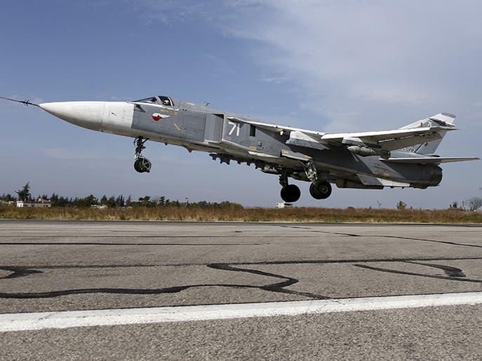 المرصد: غارات روسية على مواقع داعش في البادية السورية
