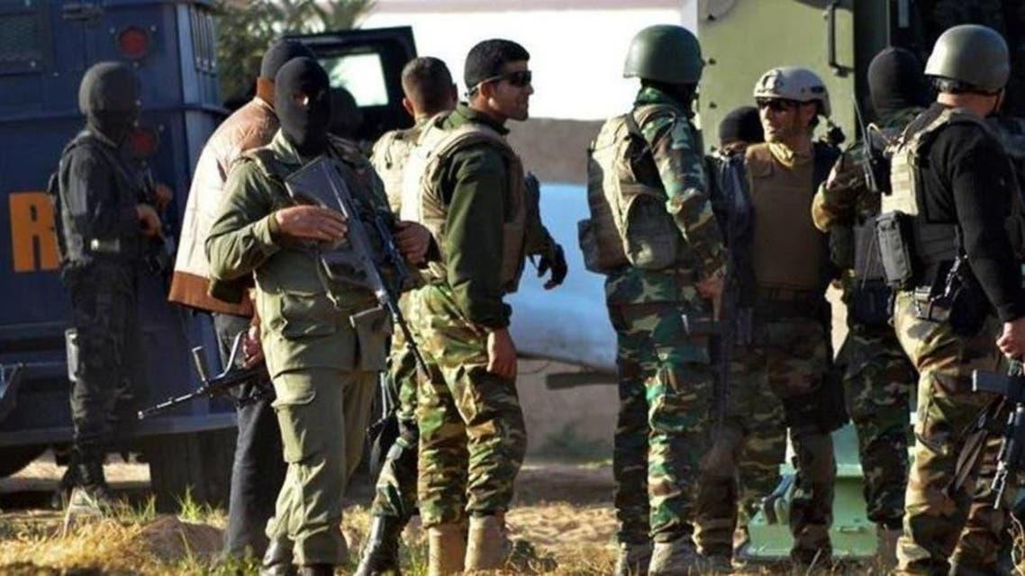 أفراد من الجيش التونسي