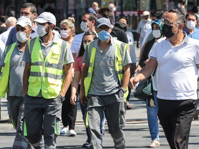 نقابة طبية: وفيات كورونا بتركيا ستصل 20 ألفاً نهاية العام