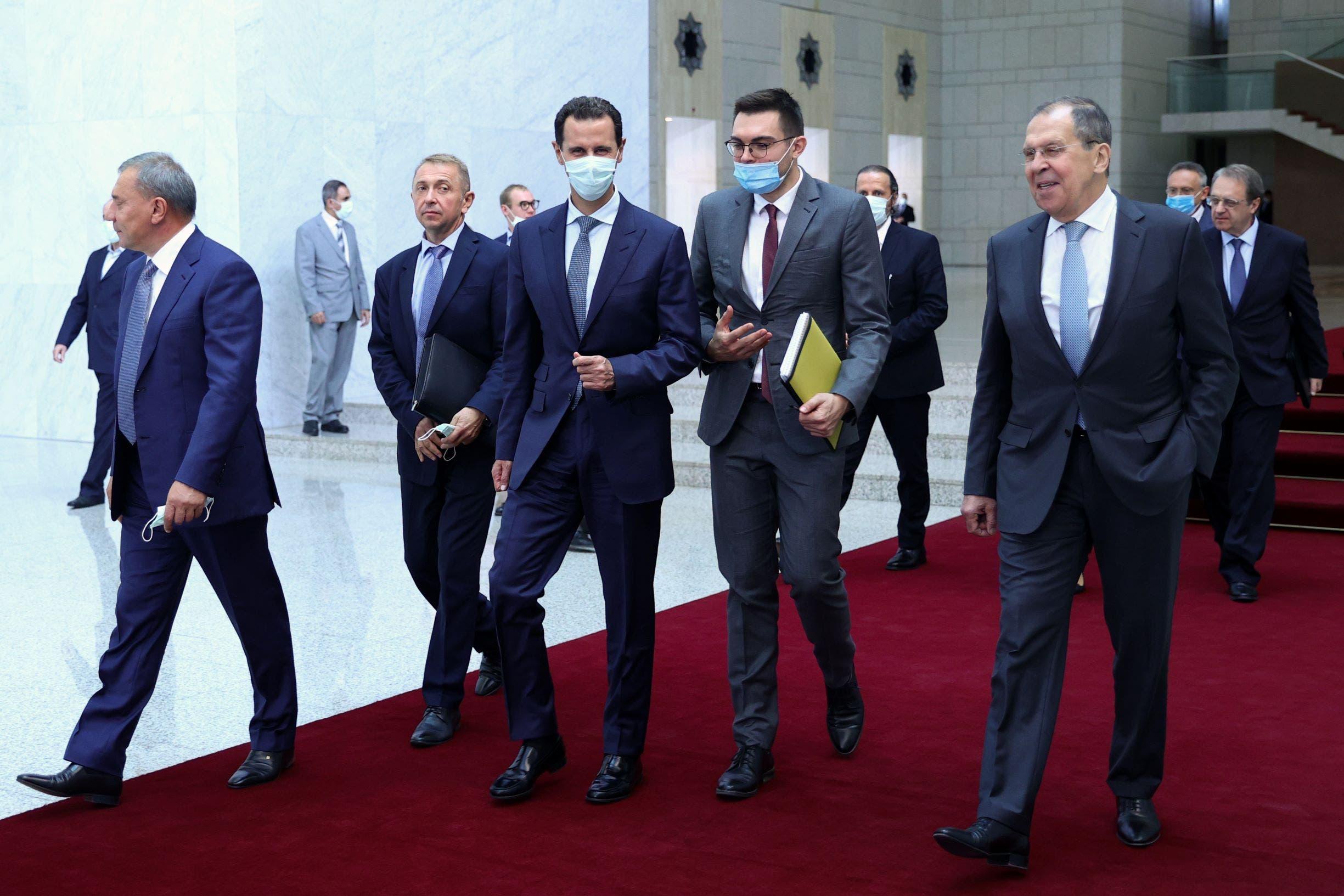 لافروف في زيارته الأخيرة الى سوريا
