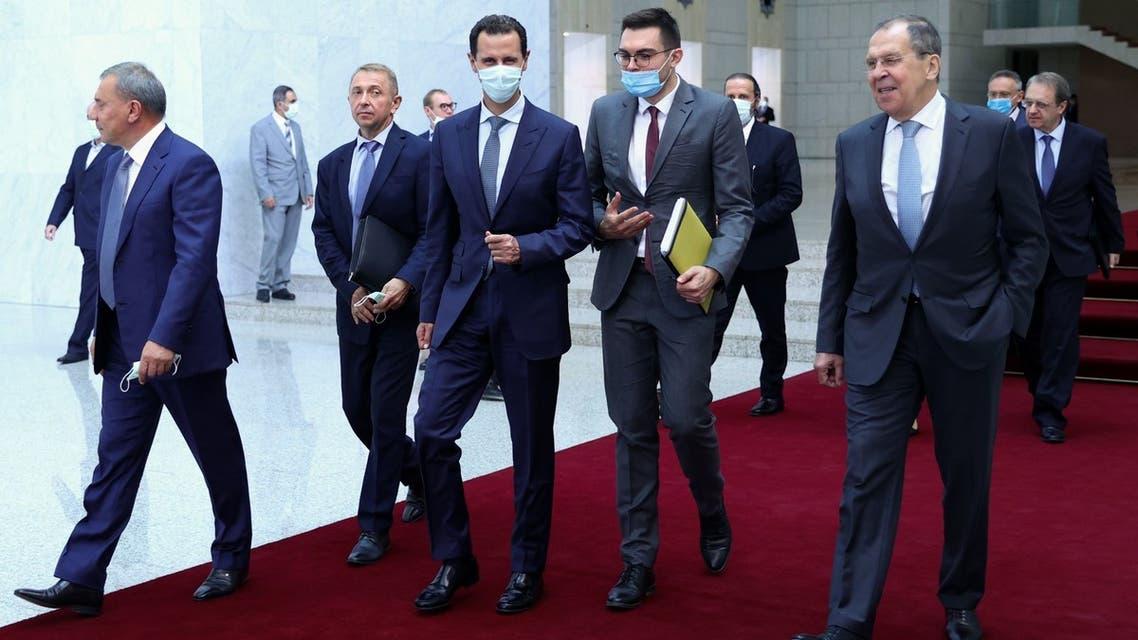 الأسد ولافروف
