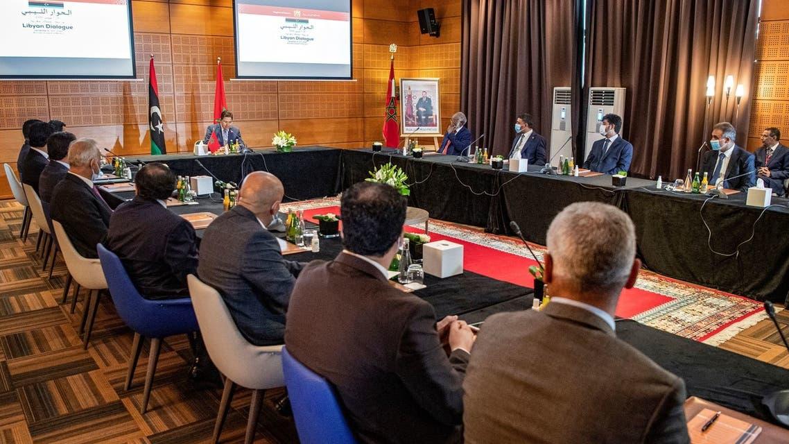المغرب -ليبيا