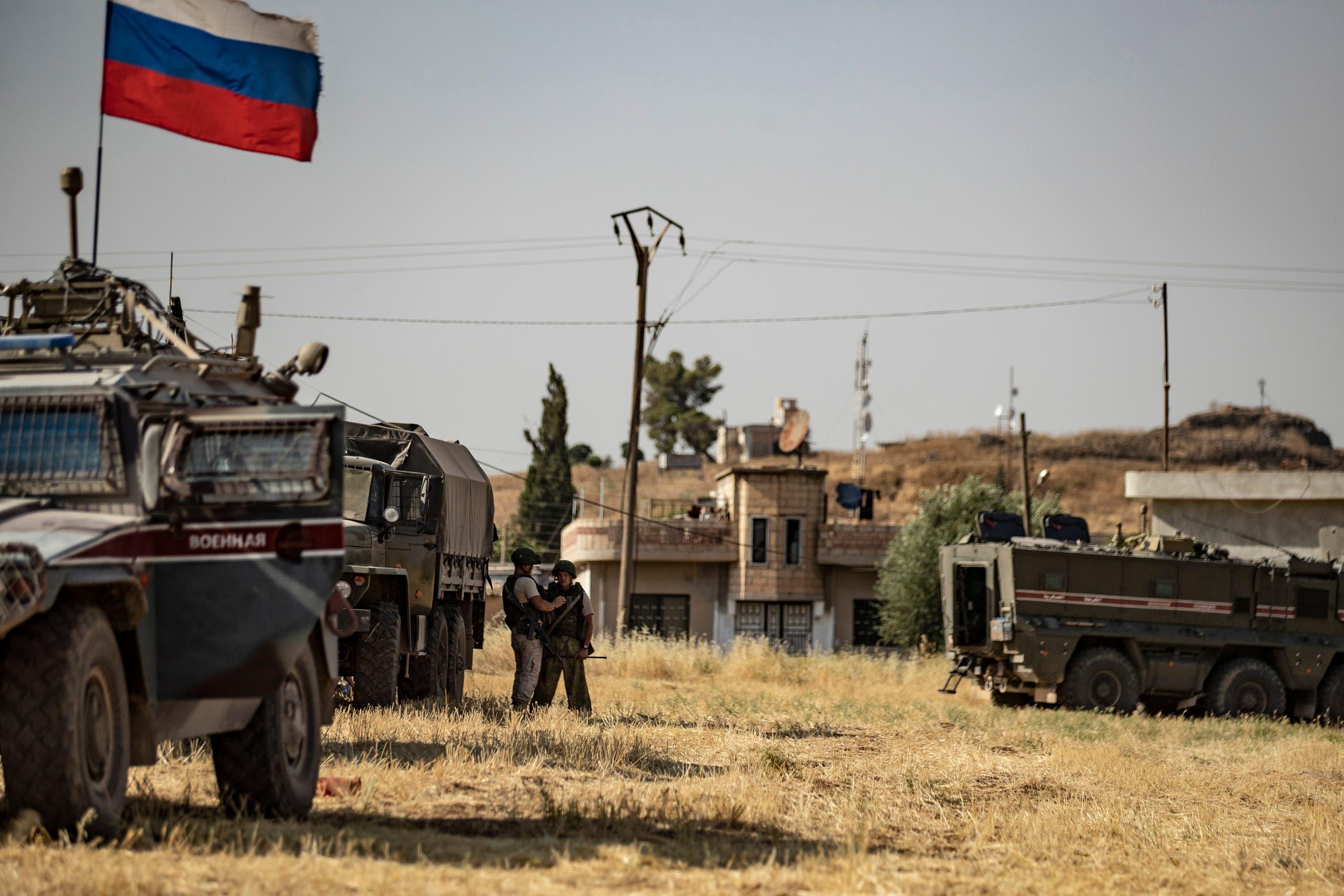 جنود روس في سوريا (أرشيفية)