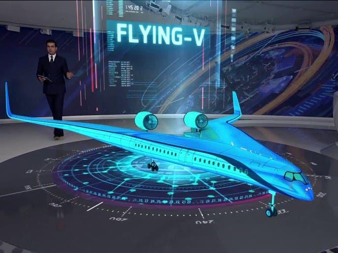 طائرة تحمل الركاب على جناحيها وتوفر 20% من الوقود.. هذه قدراتها