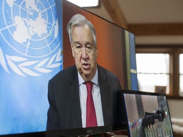 غوتيريش يحذر من تكرار سيناريو كورونا مع أزمة المناخ