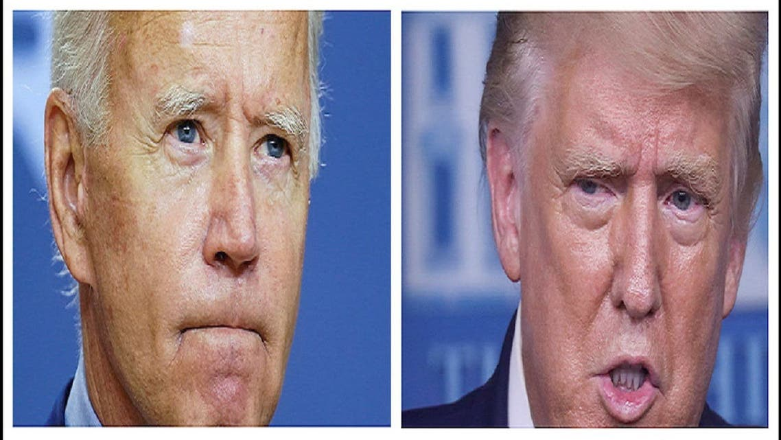 A combination picture shows democratic US presidential candidate Joe Biden and President Donald Trump. (Reuters)