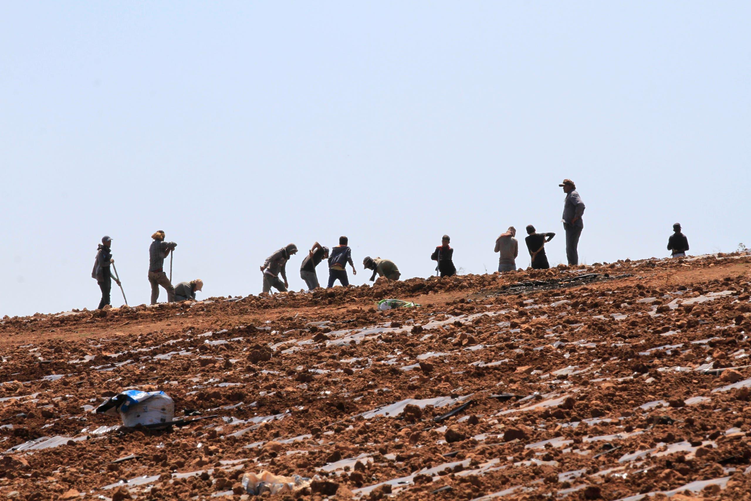 من الحدود اللبنانية(أرشيفية- فرانس برس)