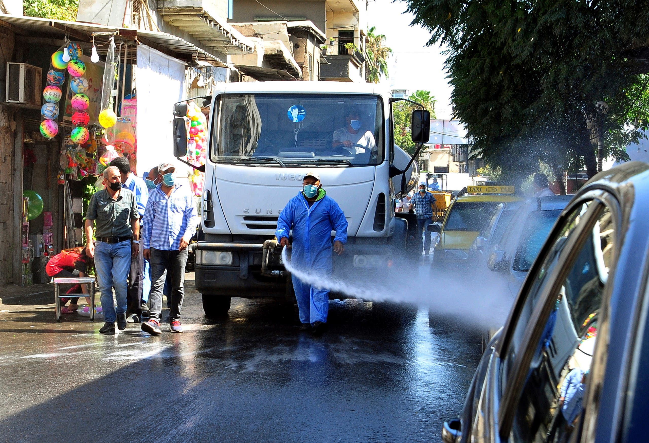 من دمشق - اسوشيتد برس
