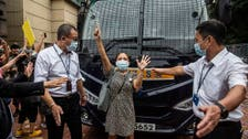 Hong Kong democracy activist charged under archaic sedition law under China rule