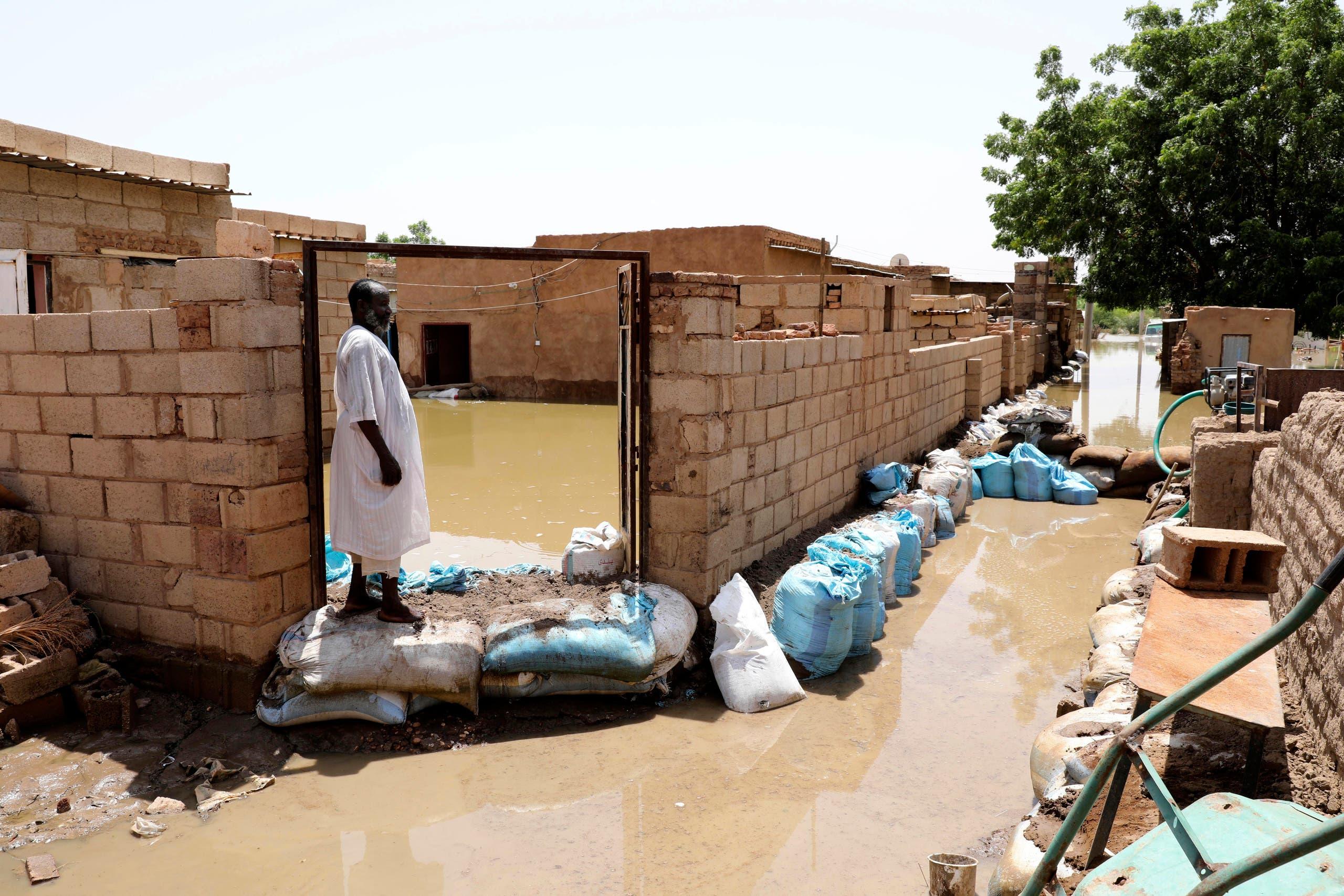 من سيول السودان (أرشيفية- أسوشييتد برس)