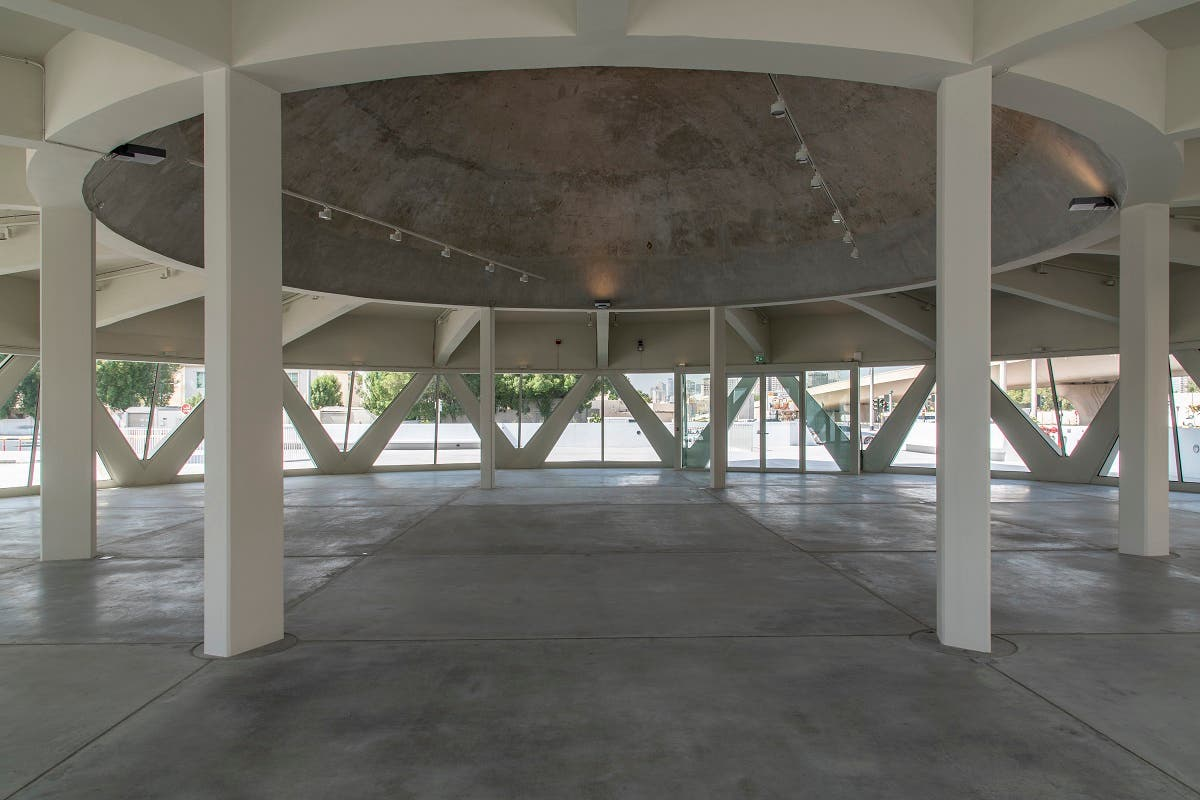 Another view of The Flying Saucer, Sharjah, UAE. (Image courtesy: Sharjah Art Foundation)