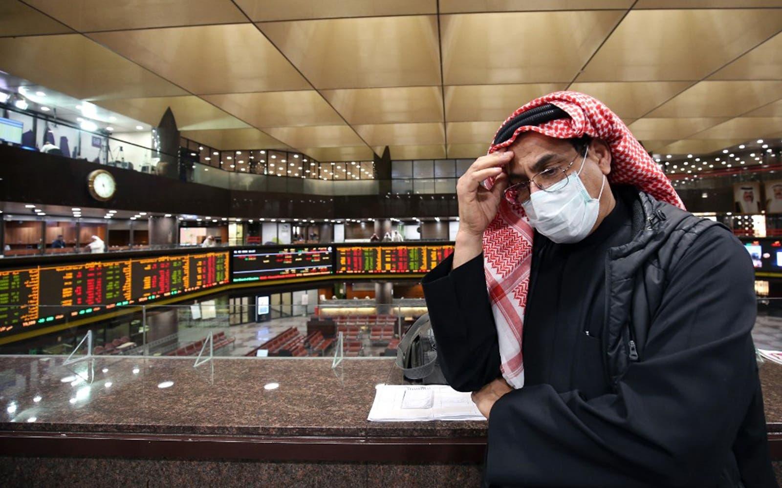 تداعيات كورونا على أسواق الخليج