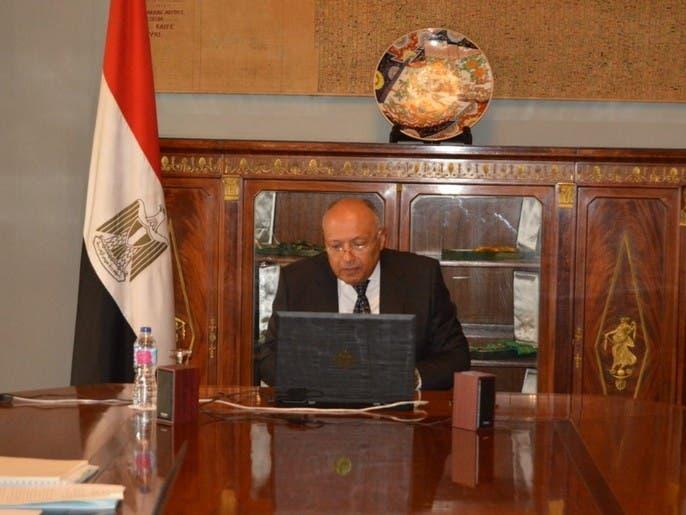 شكري: التدخلات الخارجية لا تدعم حل الأزمة في ليبيا