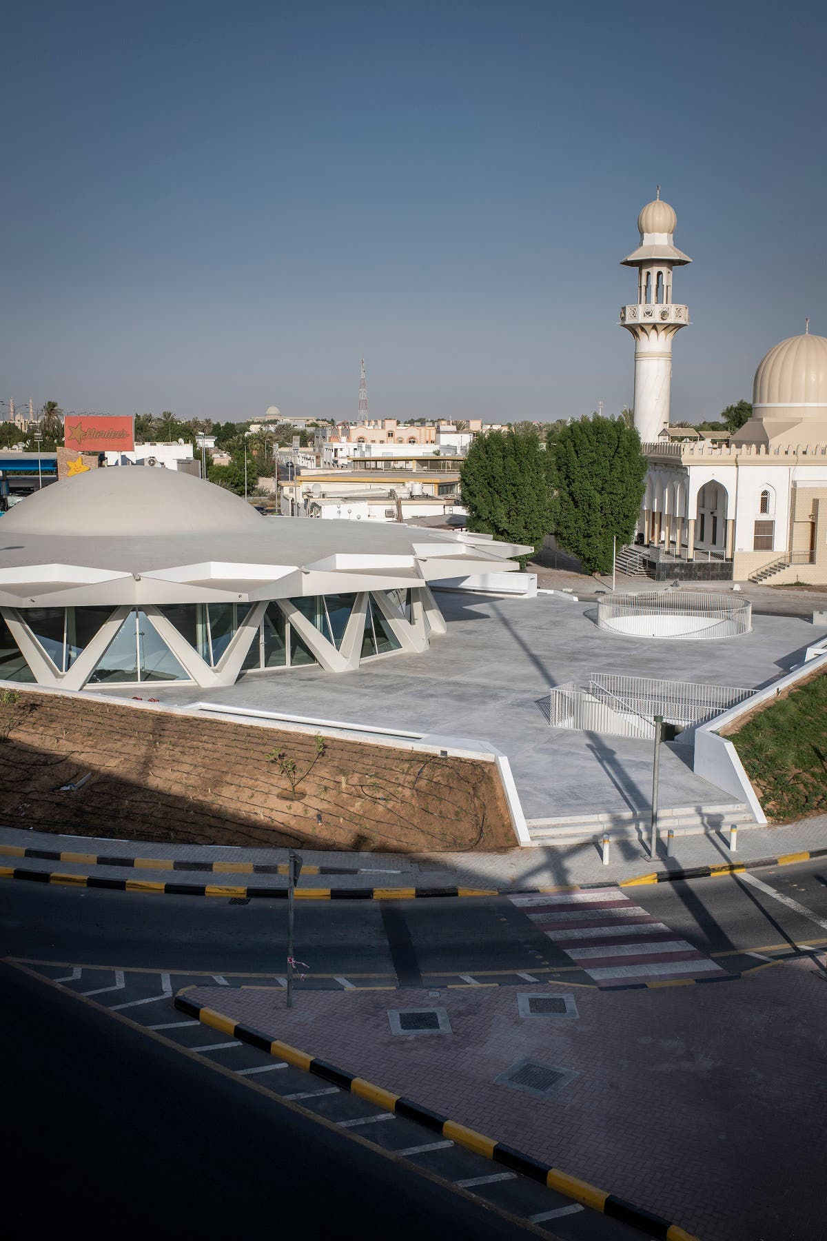 Exterior view of The Flying Saucer, Sharjah, UAE.  (Image courtesy: Sharjah Art Foundation)