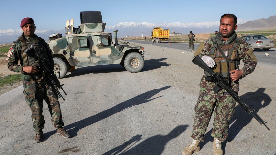 قوات أفغانية في كابول