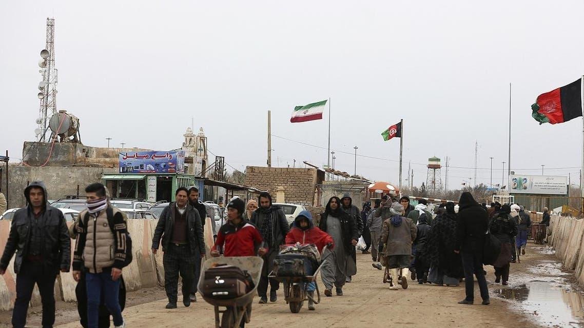 بازگشت مهاجران افغان از ایران