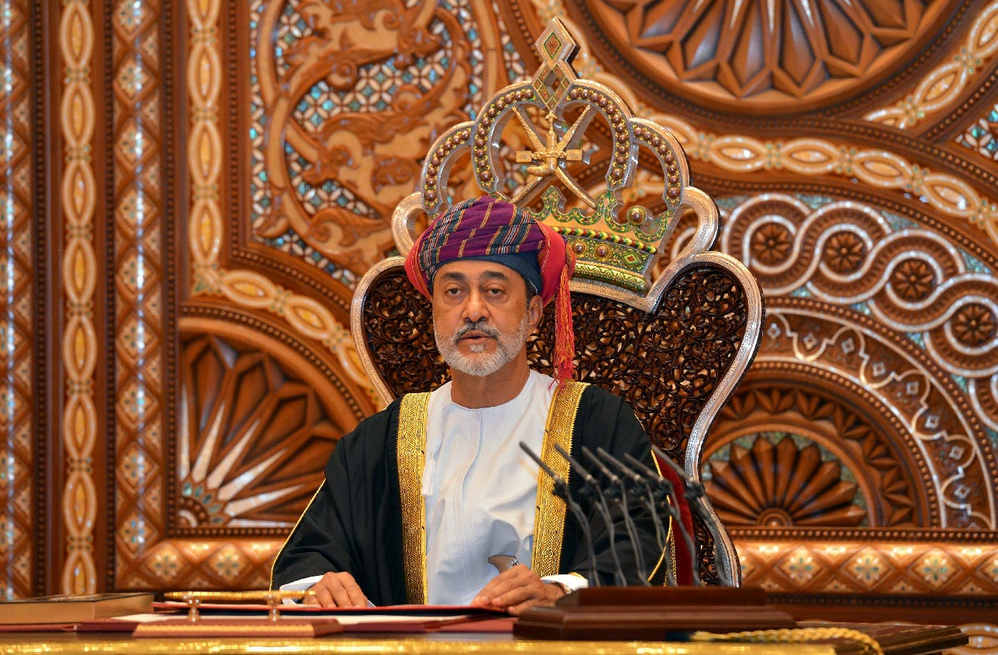 Sultan Haitham bin Tariq al-Said. (File photo: Reuters)