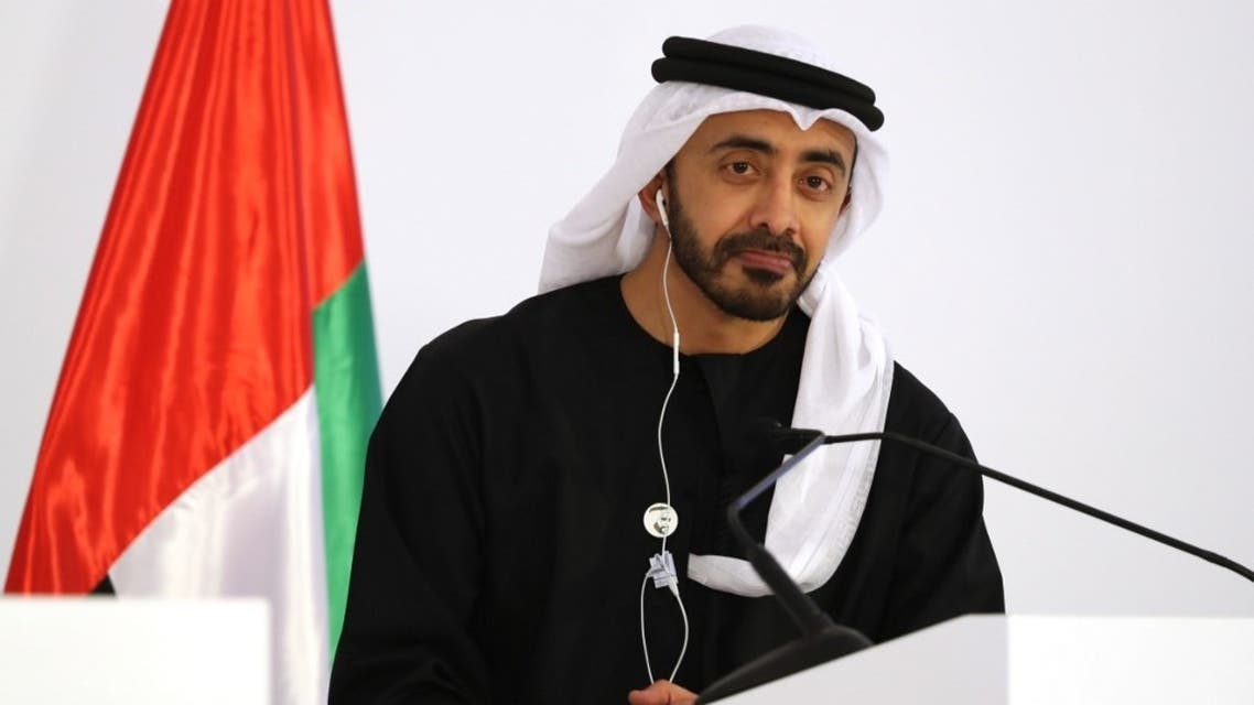 Foreign Affairs Ministers of the United Arab Emirates Abdullah bin Zayed Al-Nahyan. (File photo: AFP)