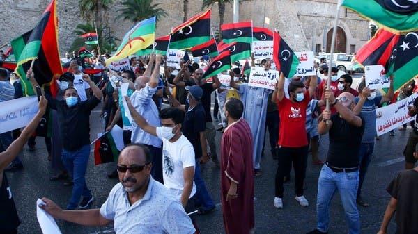 هيومن رايتس: ميليشيا الوفاق استخدمت بنادق آلية ضد متظاهري طرابلس