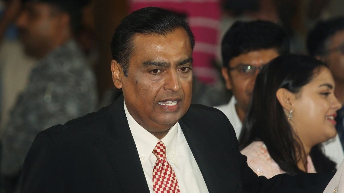 Mukesh Ambani, Chairman and Managing Director of Reliance Industries, attends the company's annual general meeting in Mumbai, India. (Reuters)