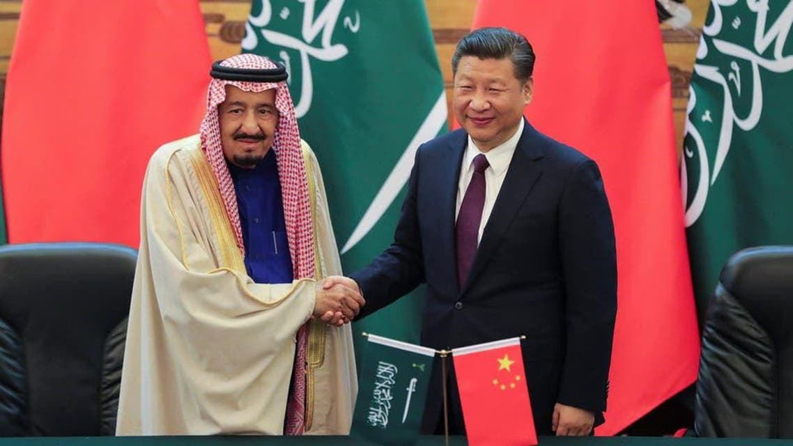Shah Salman and jin ping