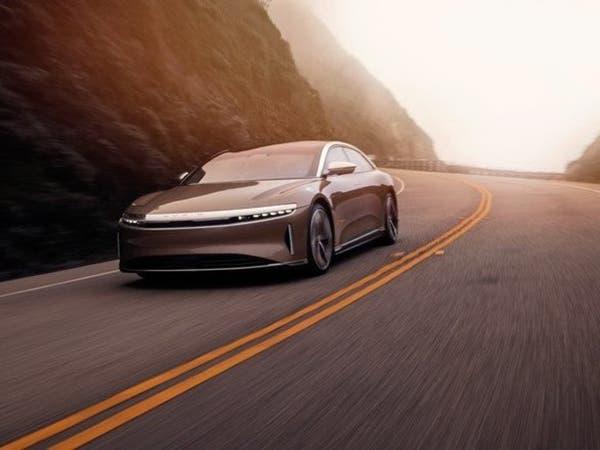 """""""لوسيد"""" المملوكة لصندوق الاستثمارات العامة تطلق سيارتها الجديدة"""