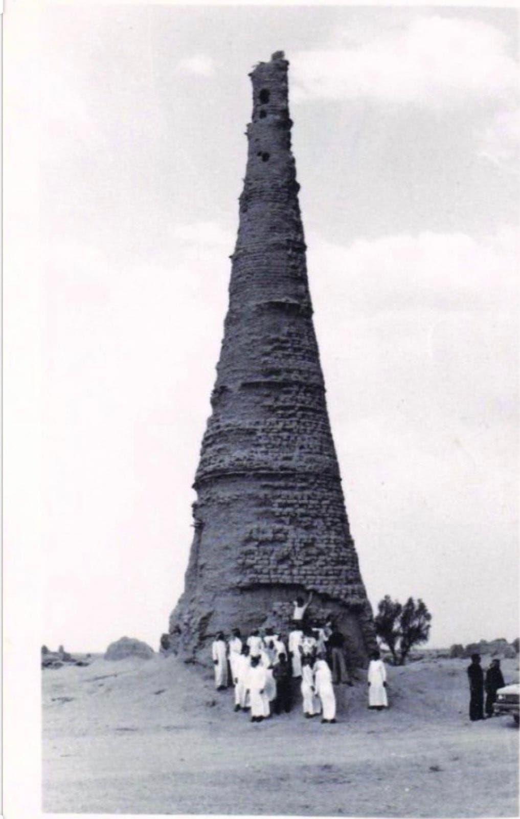 صورة تاريخية لبرج الشنانة