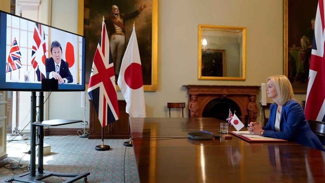 اتفاق تجاري بين بريطانيا واليابان
