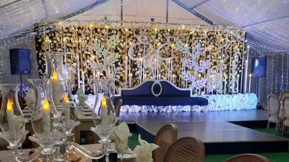 A wedding party in the UAE amid the coronavirus pandemic. (WAM)