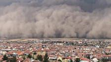Turkey's capital Ankara hit by freak sandstorm, six people injured