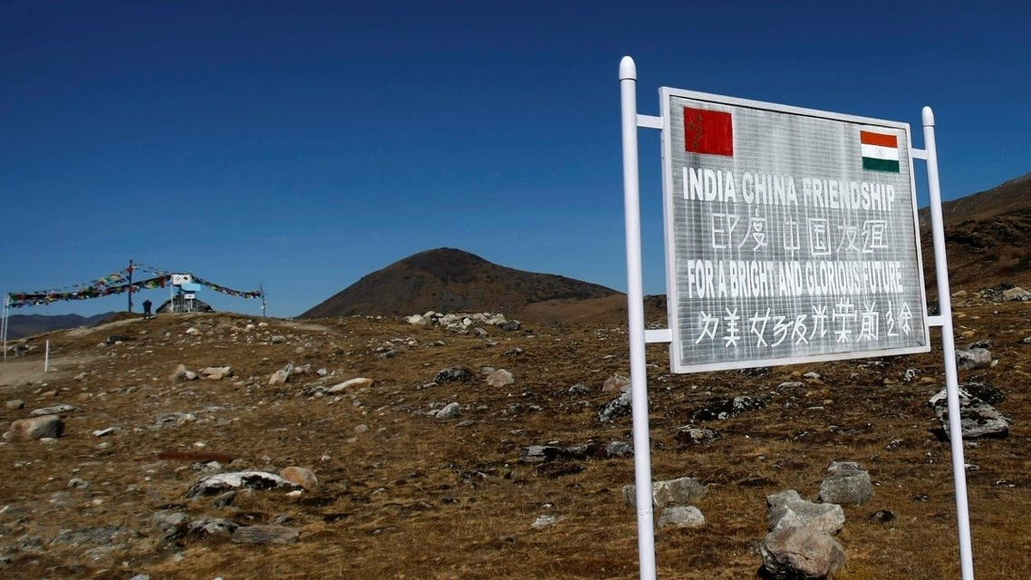 2020-09A signboard is seen from the Indian side of the Indo-China border at Bumla, in the northeastern Indian state of Arunachal Pradesh. (File photo: Reuters)-02T061846Z_72891264_RC26QI9M1SR2_RTRMADP_3_INDIA-CHINA-BORDER